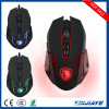 Nouveau style Sades Optical LED 6 boutons Rétro-éclairage Wired Gaming Mouse