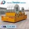 25 Ton Oficina de Serviço Pesado orientável eléctricos alimentados por bateria Carrinho de transferência da bobina
