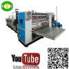 Machine de fente à grande vitesse de serviette de cuisine de papier d'imprimerie de couleurs