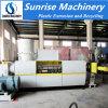 o tipo peletização plástica do anel da água 100-800kg/H do LDPE LLDPE do PE dos PP recicl a máquina