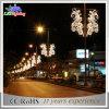 Réverbère décoratif d'horizontal de Noël extérieur DEL de constructeur de la Chine