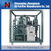 Purification d'huile isolante, filtration de pétrole de transformateur de vide poussé