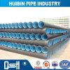 Sistema de drenaje de incrustar el HDPE Double-Wall onduladas para viviendas