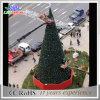 Jardim do diodo emissor de luz que ilumina a luz gigante das árvores de Natal das decorações brilhantes super do Natal