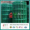 ヨーロッパの金網の緑の金網の塀PVC上塗を施してある網