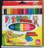 24PCS en color de lápiz para la escuela Estudiante Lápiz