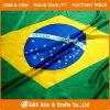 Drapeau brésilien fait sur commande, drapeau du Brésil