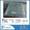 4 Seiten-Speicher-faltender Metalldraht-Ineinander greifen-Rollenrahmen-Behälter