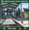 De Oppervlakte Cheaning Abrator van de Plaat van het staal met de Transportband van de Rol