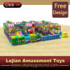 Cour de jeu d'intérieur heureuse pour des enfants avec le certificat approuvé (ST1402-1)