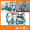 Preço do moinho de farinha da maquinaria/trigo do moinho de farinha da pequena escala