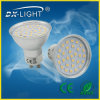 SMD 2835 40d DEL Spot Light 3.5W GU10 Aluminum White 380lumens