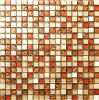 15X15mm Glass Mix Stone Mosaic Tile Exterior Wall Tile