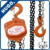 certificat CE de haute qualité 1tonne jusqu'à 10 tonnes en bloc pour chaîne de la main, palan à chaîne