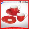 Mini piattino stabilito di ceramica della tazza della tazza di caffè del piattino e della tazza