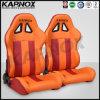 Asientos delanteros de cuero de la Micro-Fibra, asientos del coche de competición del deporte, Altos-Detrás asientos