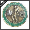 3D Antique Bronze Plating Customize Souvenir Coin (BYH-10854)