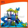 Игровая площадка для установки вне помещений оборудование металлических слайды для детей (5232A)
