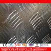 AluminiumFive Bars Tread Plate für Anti-gleiten Dock