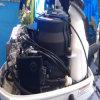 Motor externo (diesel dos motores de Outboards)