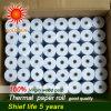 Rollo de papel térmico de cajeros automáticos NCR (TP-028)
