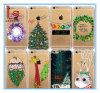 La aduana iPhone6s iPhone6 de la venta al por mayor del regalo de la decoración de la Navidad enrarece iPhone7 de drenaje coloreado TPU más caja del teléfono
