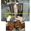 Elétrico ou Gas Automatic Grill Machine/BBQ Grill Machine