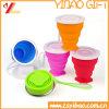 Taza colorida modificada para requisitos particulares del silicón del café del té de la categoría alimenticia