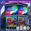 Visualización de la cartelera de P8 LED para la publicidad al aire libre