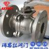 CF8m/CF8 2PC flangeou válvula de esfera com almofada de montagem