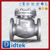 Didtek Edelstahl-150lb verriegelte Mütze und Dichtschott-Rückschlagventil