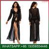 여자 섹시한 투명한 레이스 투명한 란제리 v 목 결박 제복 유혹 외투 잠옷