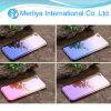 A rampa de gradiente raio de luz refletida caso telefone para iPhone7