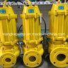 Wq Série de la saleté des eaux usées submersible Pompe à eau électrique 3kw
