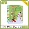 Sac de papier de cadeau de sabot de Ho Ho Ho de sac de papier de bonhomme de neige de Noël