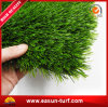 Hierba artificial verde de los PP del PE plástico para el jardín con SGS (ESML004)