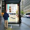 習慣IP65はアンドロイドかWindowsデジタルの表記の屋外広告のキオスクを防水する