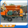 Pompa concreta elettrica mobile professionale di Tralier
