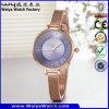 ODM van het Horloge van het Embleem van de douane het Toevallige Horloge van het Leer (wy-135D)