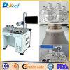 Máquina do marcador do laser do CNC de China 20W para o bulbo plástico do diodo emissor de luz