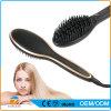 Pantalla LCD eléctrica de cerámica del cepillo plancha para el pelo