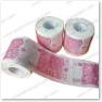 Papier de toilette coloré par coutume