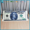 Cottone 도매 직물은 달러에 의하여 인쇄된 수건을 주문 설계한다