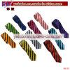 Cravets à rayures à motifs en polyester Cravates imprimées fille scolaire (B8155)