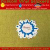 Etiqueta engomada impermeable durable de encargo del PVC de la marca de fábrica de la promoción Stone-025