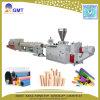 Chaîne de production en plastique d'extrudeuse de pipe de Mousse-Faisceau-Couche de galerie pour câbles de PVC UPVC