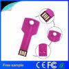 Свободной от лазерной печати из нержавеющей стали ключ USB-накопитель 2 ГБ 4 ГБ