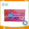 Marques femelles d'OEM de serviette de Madame garniture sanitaire de coton de vente chaude