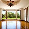 Neues Entwurfs-Feelingtop kundenspezifisches isolierendes Glasaluminiumbucht-Fenster für Hotel-Landhaus (FT-W70)