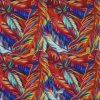 Élevé-densité PVC/PU Flower Printing Polyester Fabric (KL-01) d'Oxford 600d